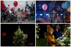 Rozsvěcení vánočního stromku na Kubáni